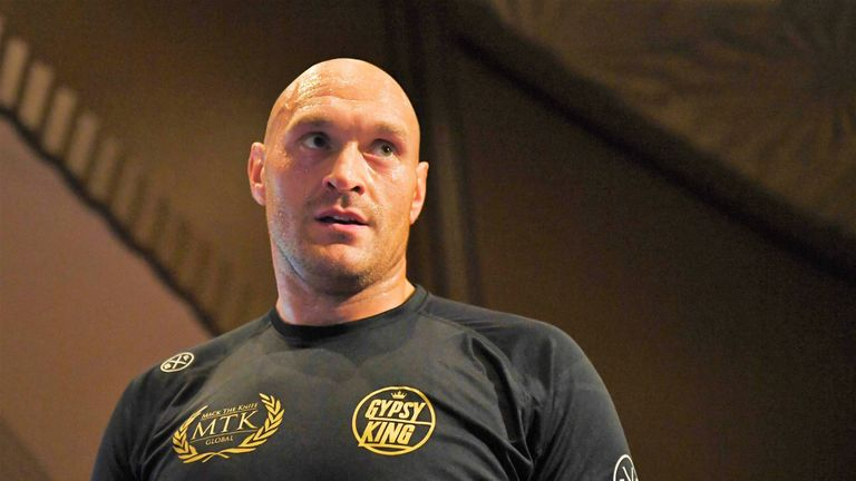 Tyson Fury faces Otto Wallin at The T-Mobile Arena this weekend