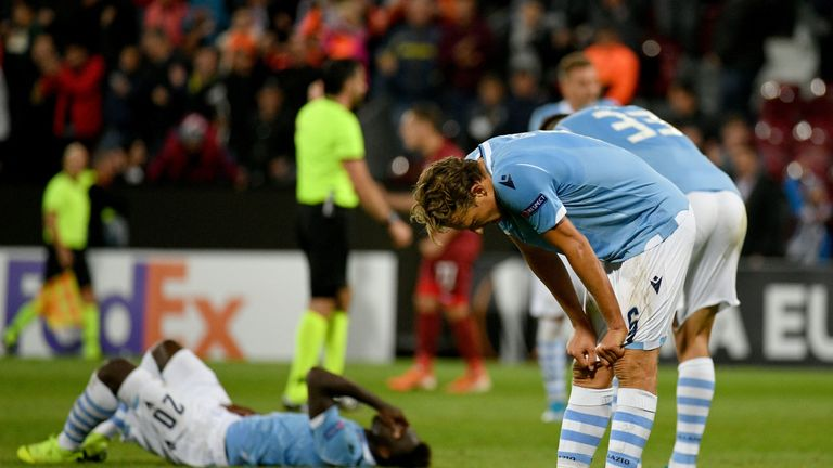 Europa League round-up: Lazio shocked in Cluj as Wolfsberger romp to win over Gladbach