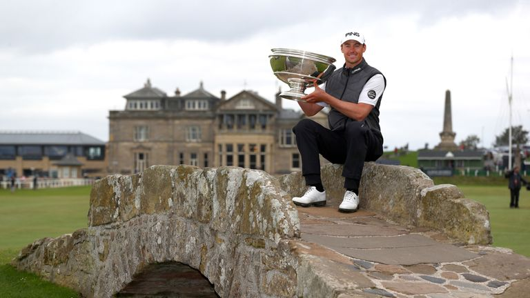 Victor Perez is defending champion at the Alfred Dunhill Links Championship