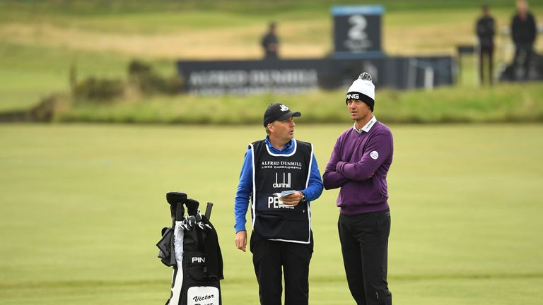 Perez gave credit to Rory McIlroy's former caddie, JP Fitzgerald