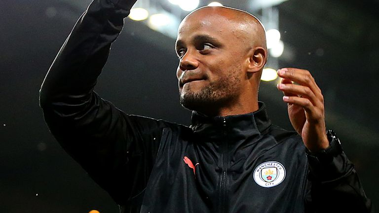 Kompany departed the Etihad Stadium in 2019 after spending 11 years at the club