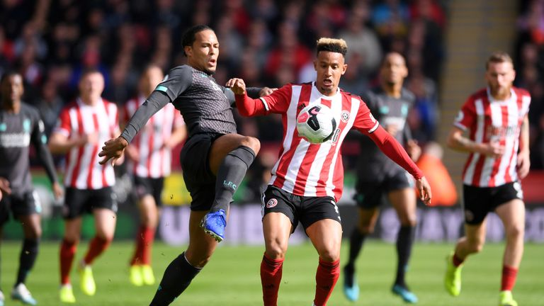 Virgil van Dijk shone for Liverpool in their 1-0 win over Sheffield United