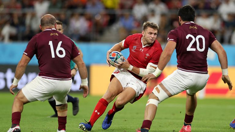 Wales eased to an opening win against Georgia on Monday
