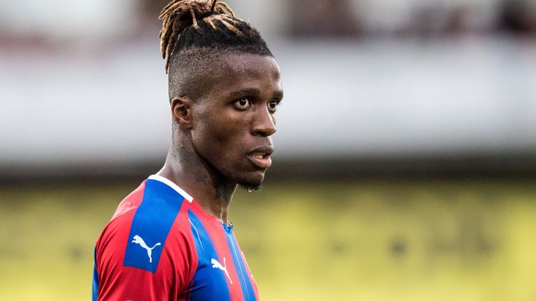 Wilfried Zaha has faced racist abuse on social media