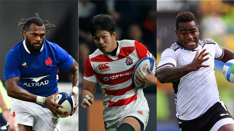 10 potential breakout stars of Rugby World Cup 2019