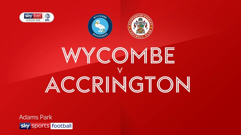 Wycombe 1-1 Accrington: Nick Freeman rescues point for Wanderers