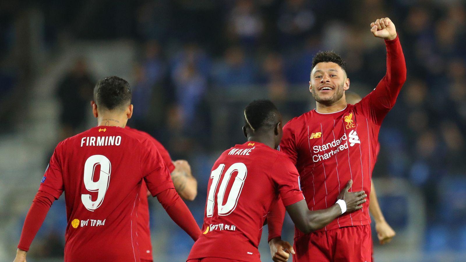 Genk 1-4 Liverpool: Alex Oxlade-Chamberlain double wins it on Champions League return