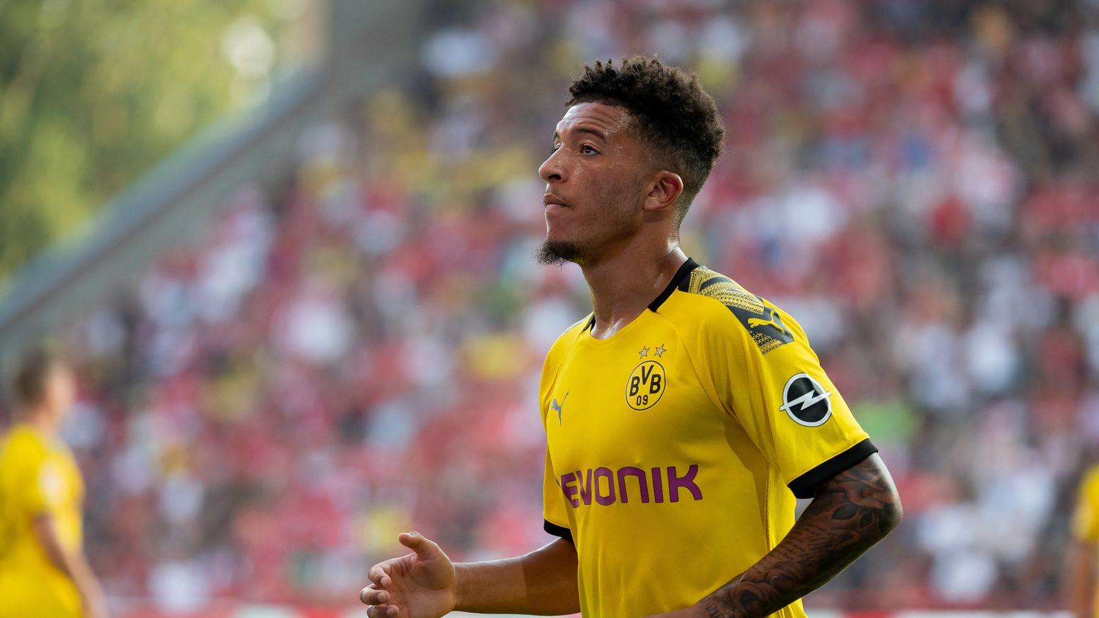 Dortmund: We'll struggle to keep Sancho