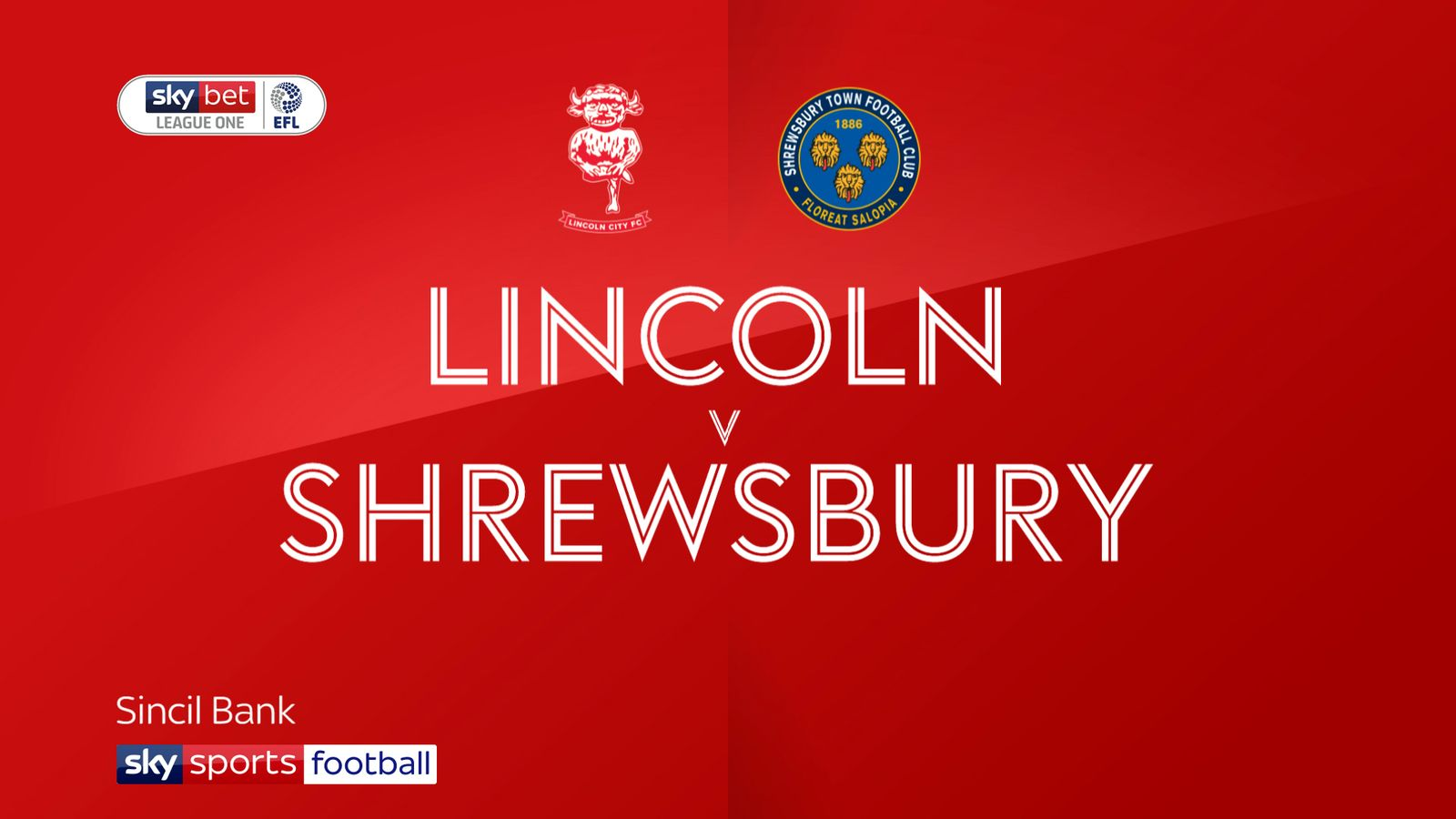 Lincoln 1-1 Shrewsbury: Cian Bolger sent off in stalemate at Sincil Bank