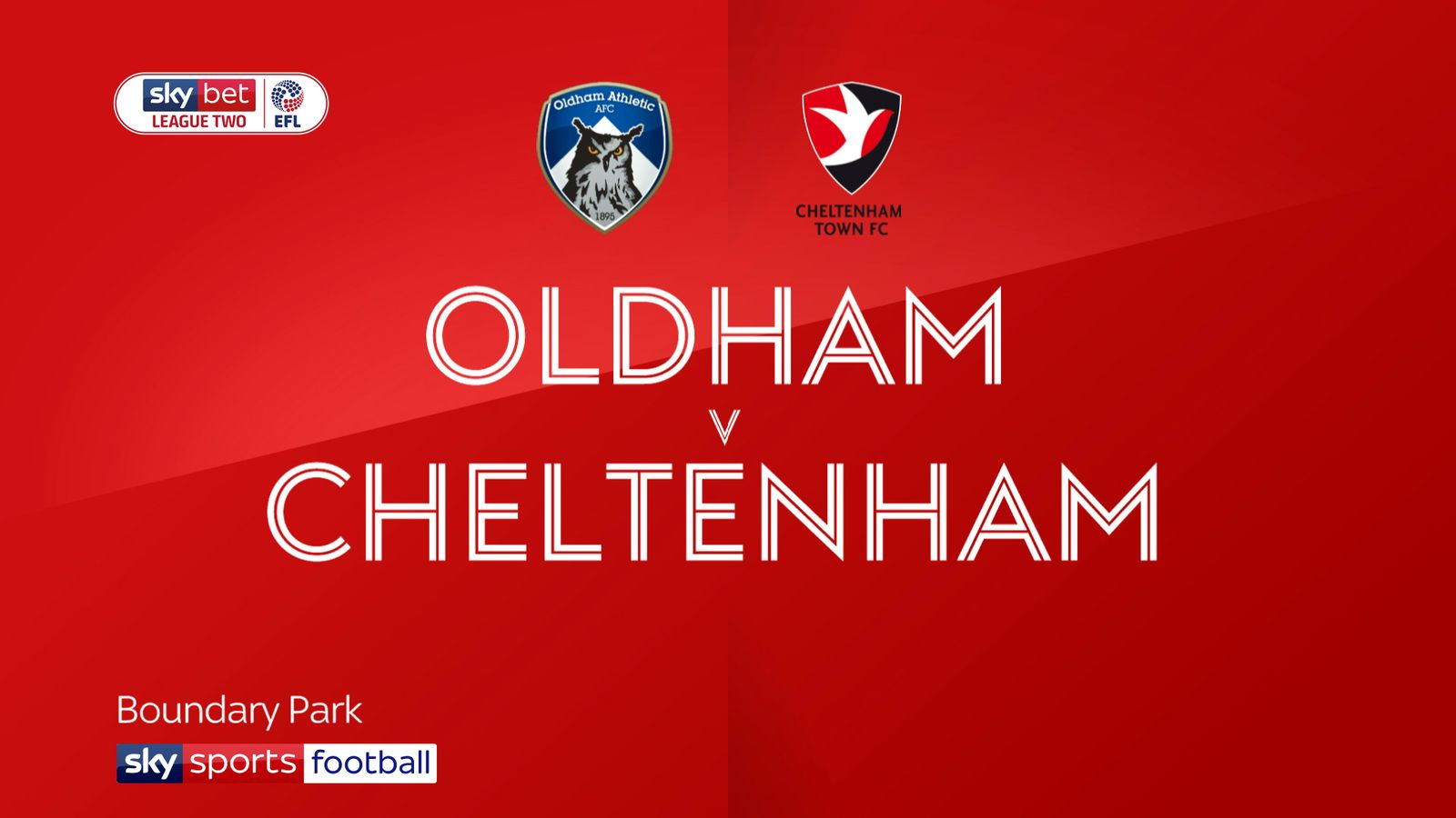 Oldham 1-1 Cheltenham: Town miss chance to move top of League Two