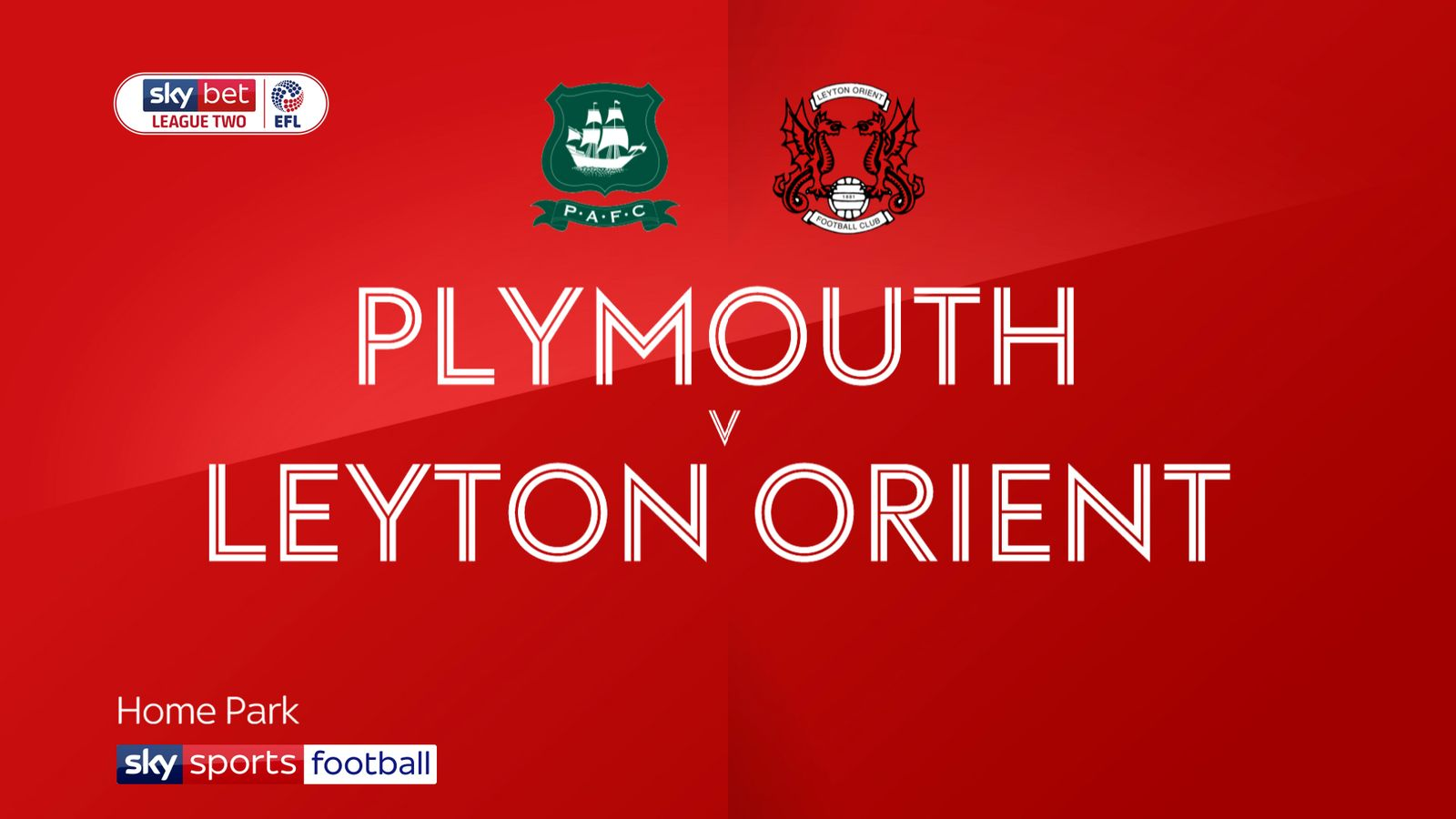 Plymouth 4-0 Leyton Orient: Argyle gear up for Devon derby with big win
