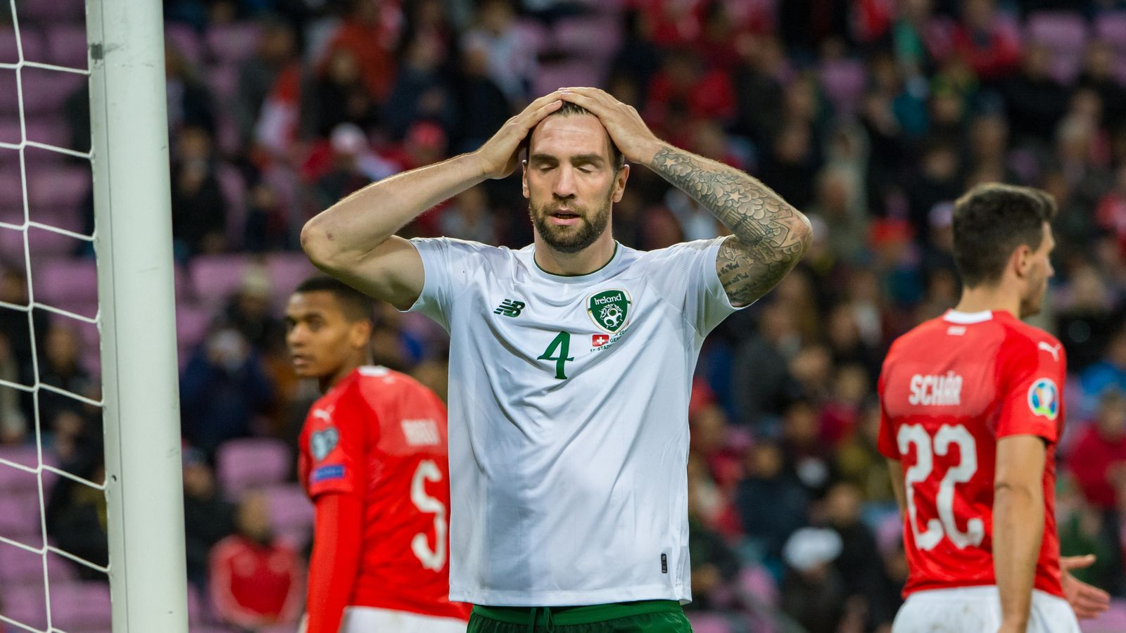 Switzerland 2-0 Republic of Ireland: Mick McCarthy's side miss chance to qualify for Euro 2020