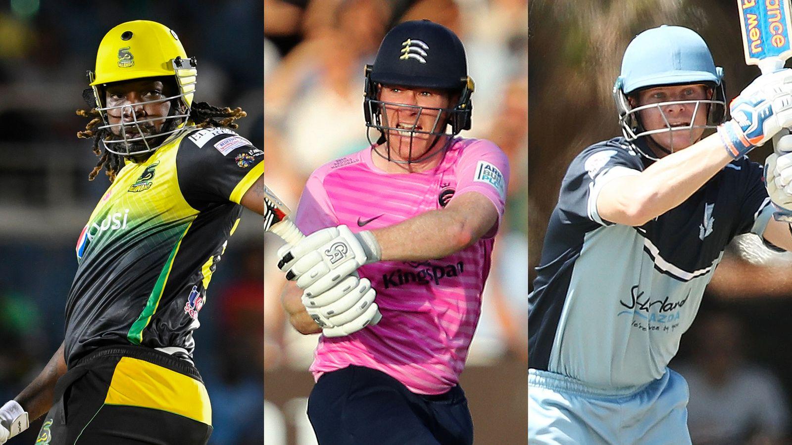 The Hundred: Eoin Morgan, Steve Smith, Chris Gayle and David Warner on draft list