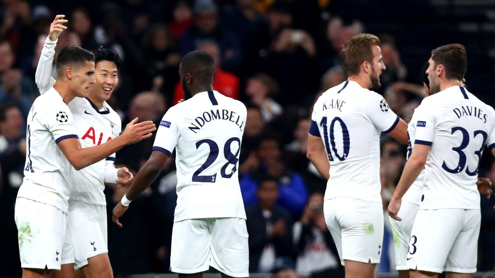 Tottenham 5-0 Red Star Belgrade: Brilliant Spurs boost confidence