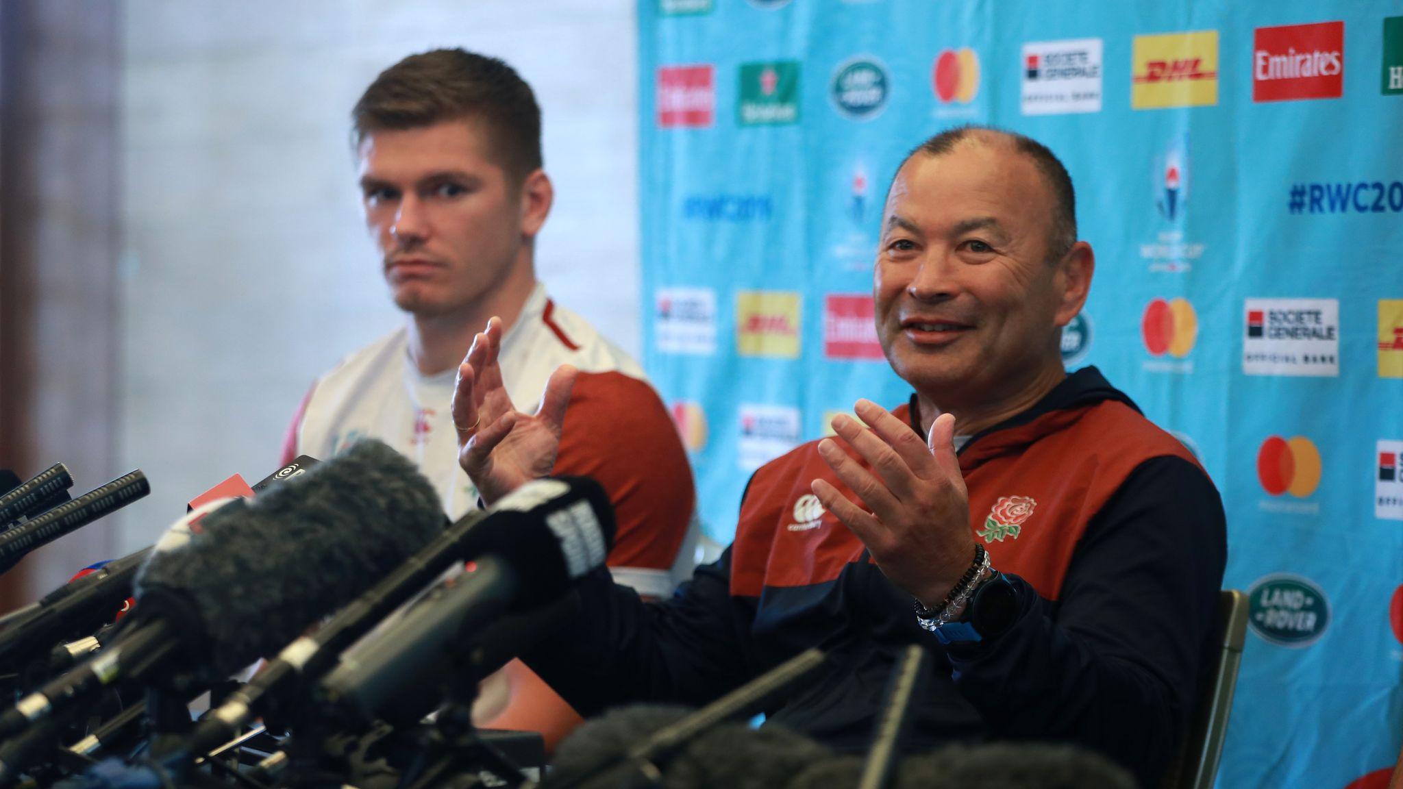 Eddie Jones claims England training was spied on before All Blacks semi-final