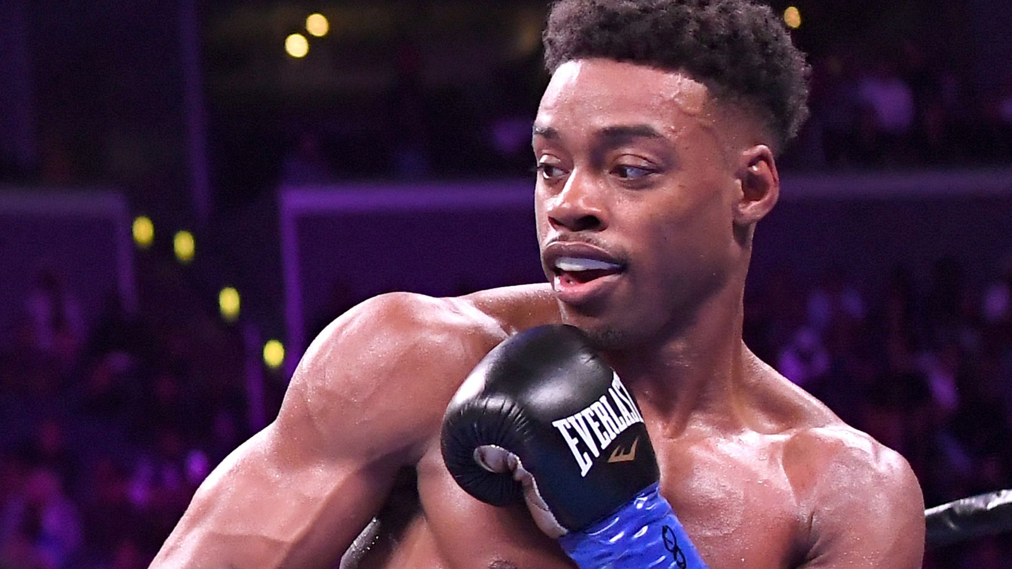 Errol Spence Jr charged with drink-driving after crash