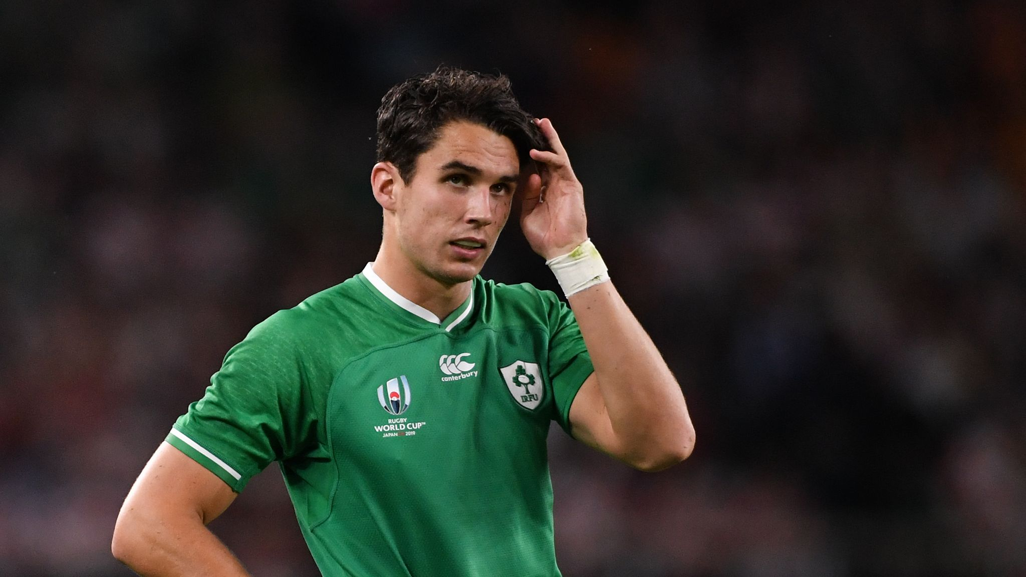 Joey Carbery withdrawn from Ireland's World Cup game against Russia