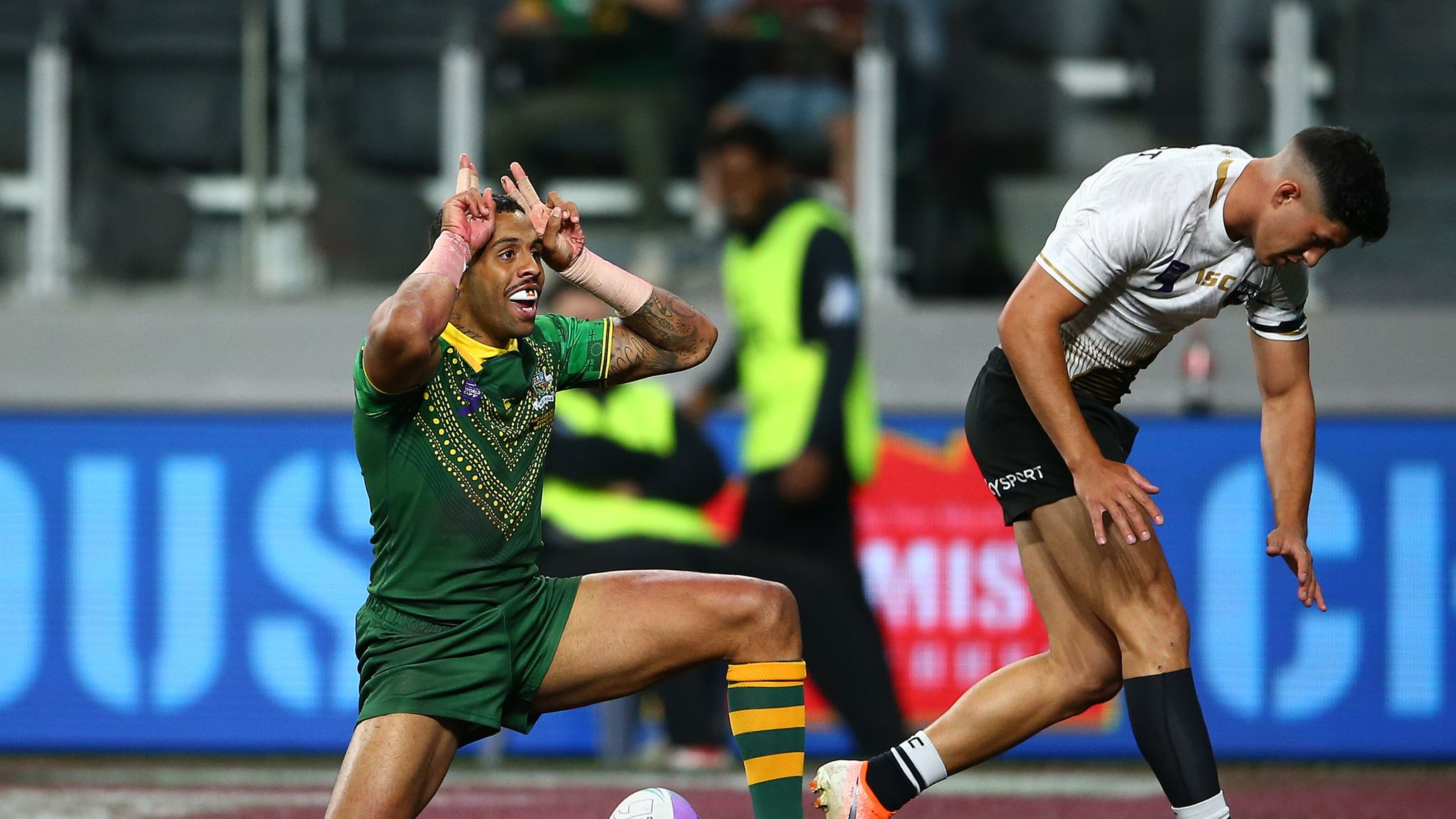 World Cup Nines: Day one wrap