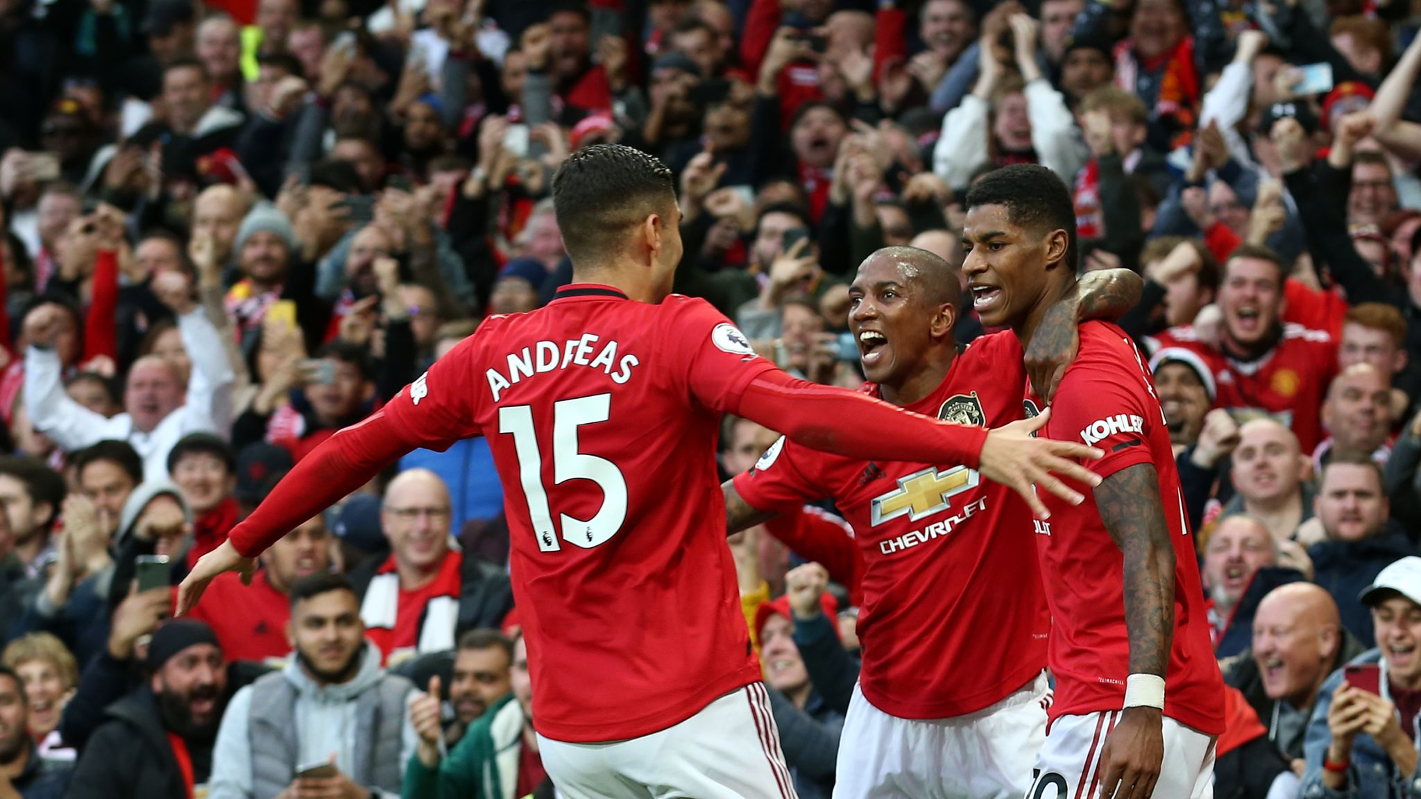 Manchester United 1-1 Liverpool player ratings: Marcus Rashford the top performer