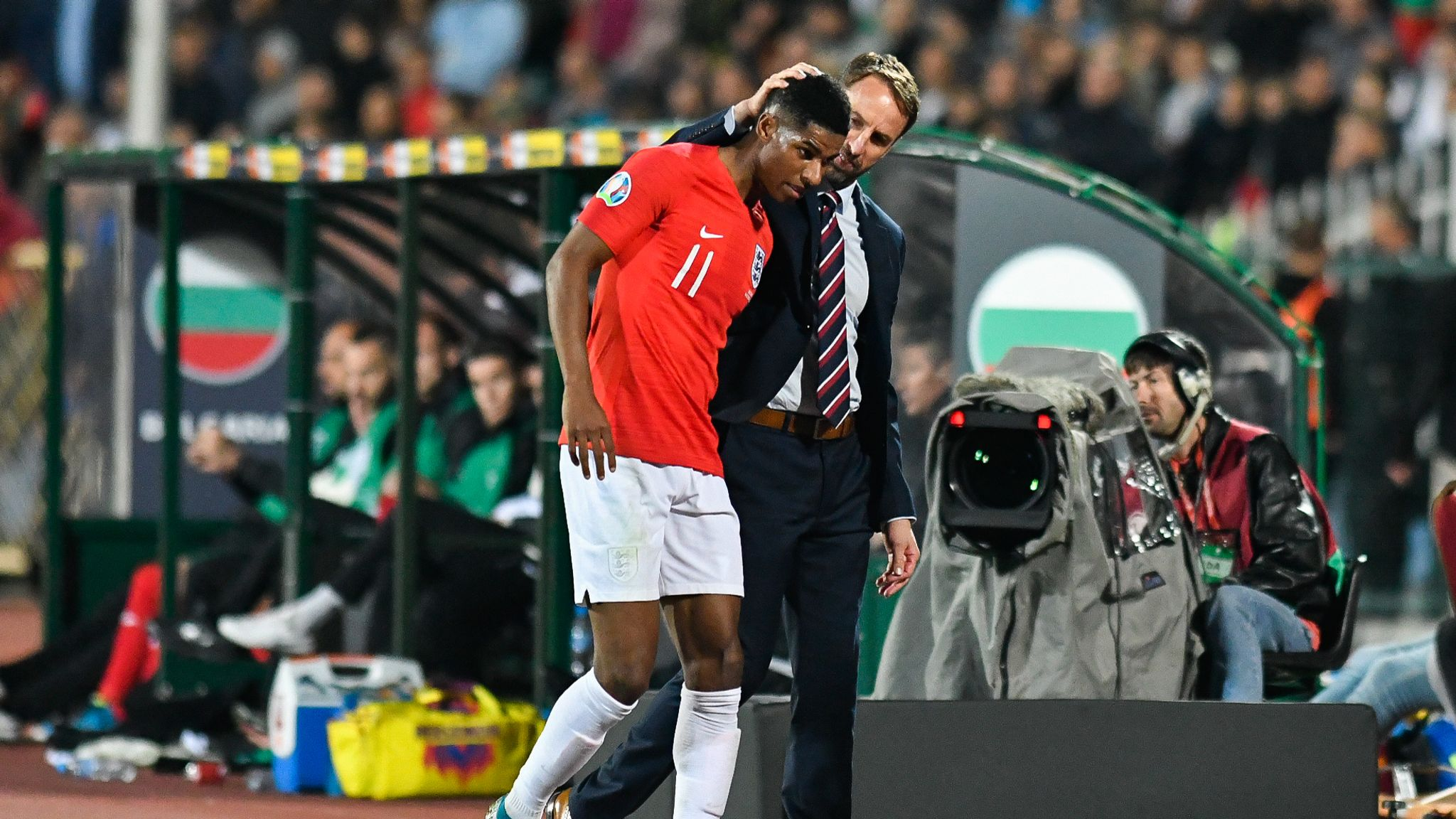 Should England have walked off after racist abuse in Bulgaria?