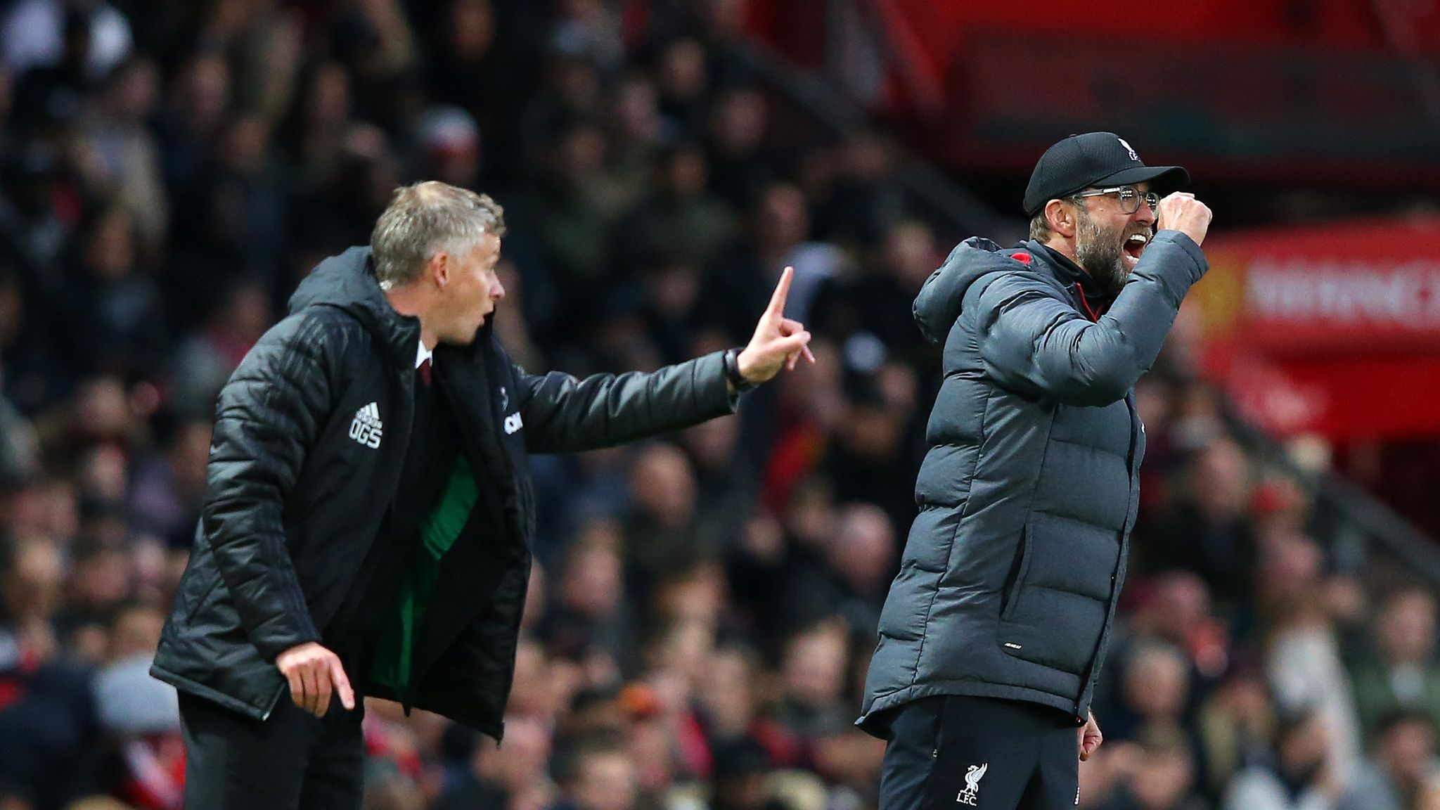 Jurgen Klopp: Man Utd 'just defended' against Liverpool, but Ole Gunnar Solskjaer says otherwise