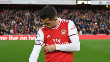 fifa live scores - Granit Xhaka '100 per cent' behind Arsenal after Crystal Palace incident