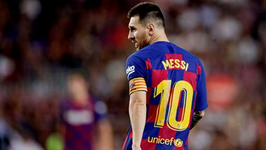 fifa live scores - Lionel Messi: Ernesto Valverde has 'run out of words' for Barcelona captain