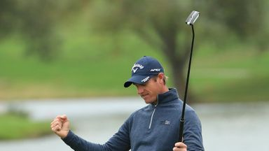 Nicolas Colsaerts held on for a thrilling victory in Paris