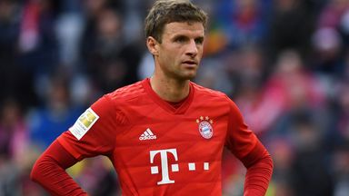 fifa live scores - Thomas Muller will not be allowed to leave Bayern Munich in January