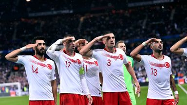 UEFA investigating Turkey over salute