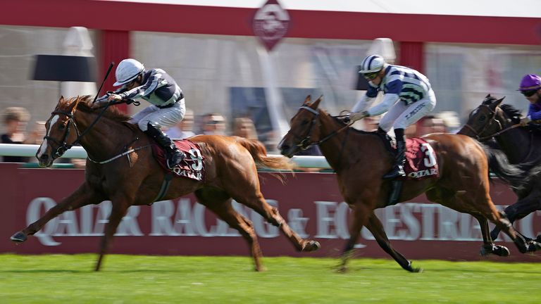 Albigna and Shane Foley win the Prix Marcel Boussac
