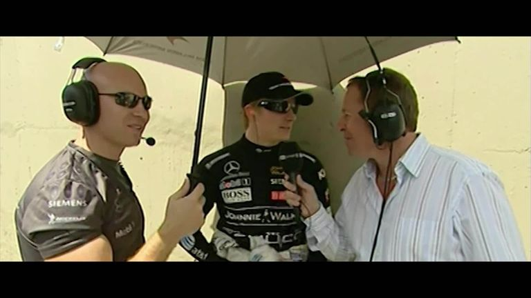 Watch some of Kimi Raikkonen's best and funniest moments from two decades on the Formula 1 grid