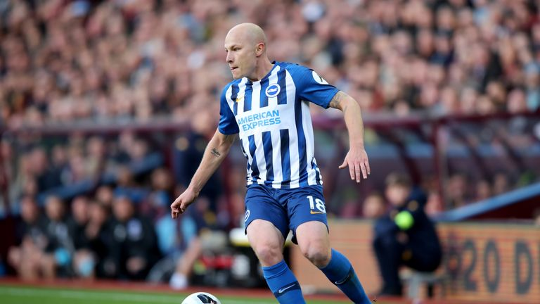 Aaron Mooy is back in contention for Brighton following suspension