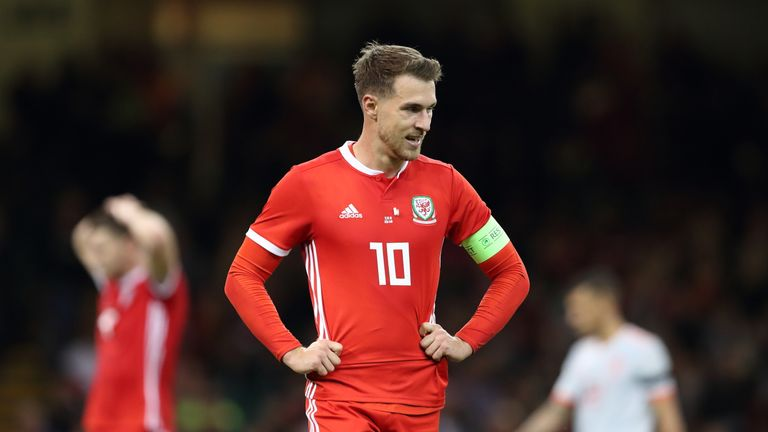 Aaron Ramsey is set to return for Wales