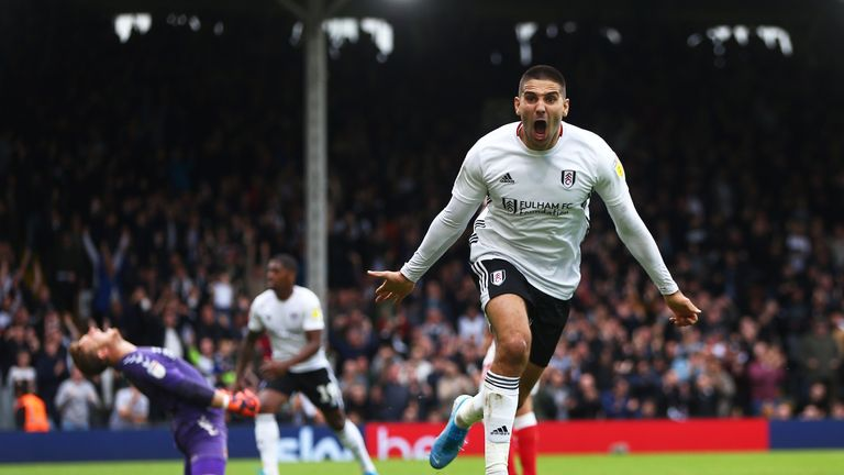 Fulham striker Aleksandar Mitrovic is the top scorer in the Championship with eight goals