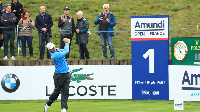 Alex Noren eagled the last to salvage a 72