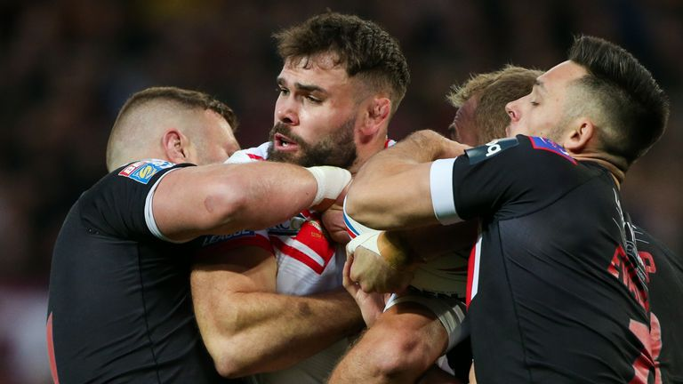 Alex Walmsley came back from a broken neck to win the Grand Final with St Helens again