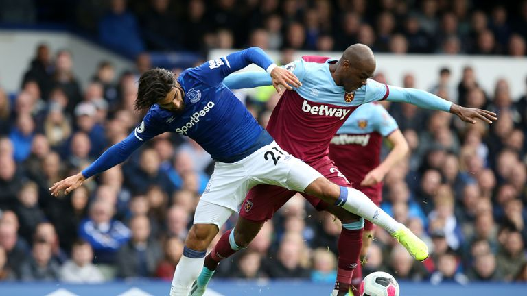 West Ham performed poorly against Everton on Saturday