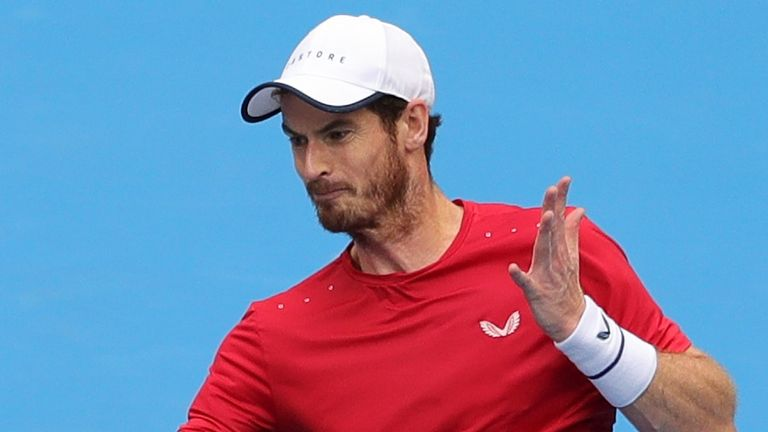 Andy Murray suffered a straight-sets defeat to Dominic Thiem