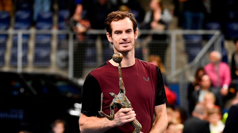 Murray completed a remarkable comeback to tennis by winning the European Open in Antwerp earlier this year