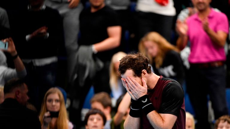 Andy Murray named in Great Britain's Davis Cup squad