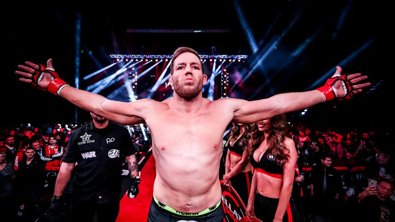 Jake Hager: We The people [photo courtesy of Bellator MMA]