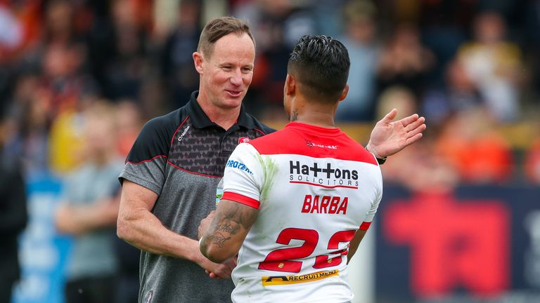 Ben Barba was a star player for Justin Holbrook in 2018
