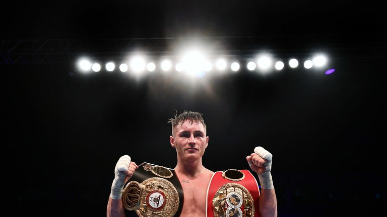 Ryan Burnett unified the bantamweight division after just 18 fights