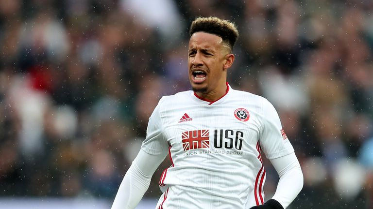 Callum Robinson joins West Brom on loan from Sheffield United