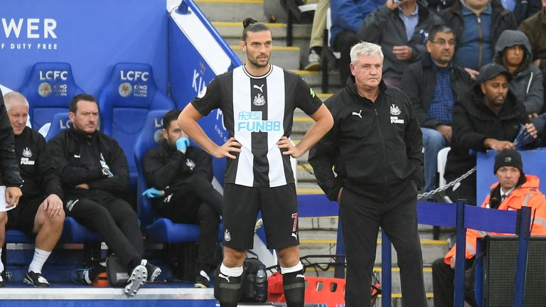 Carroll has made four substitute appearances since returning to Newcastle this summer