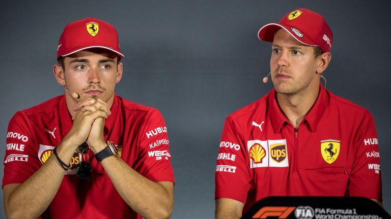 Charles Leclerc vs Sebastian Vettel: Mark Hughes on Ferrari's own rivalry | F1 News