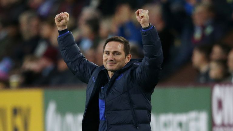 Frank Lampard's Chelsea face Watford on Saturday