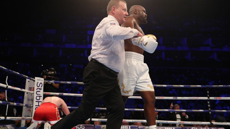 Chisora vs Usyk 'almost there'
