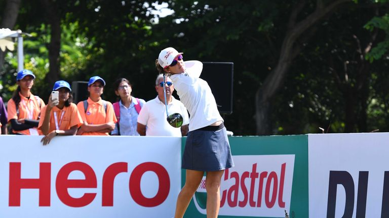 Christine Wolf is searching for her maiden Ladies European Tour title